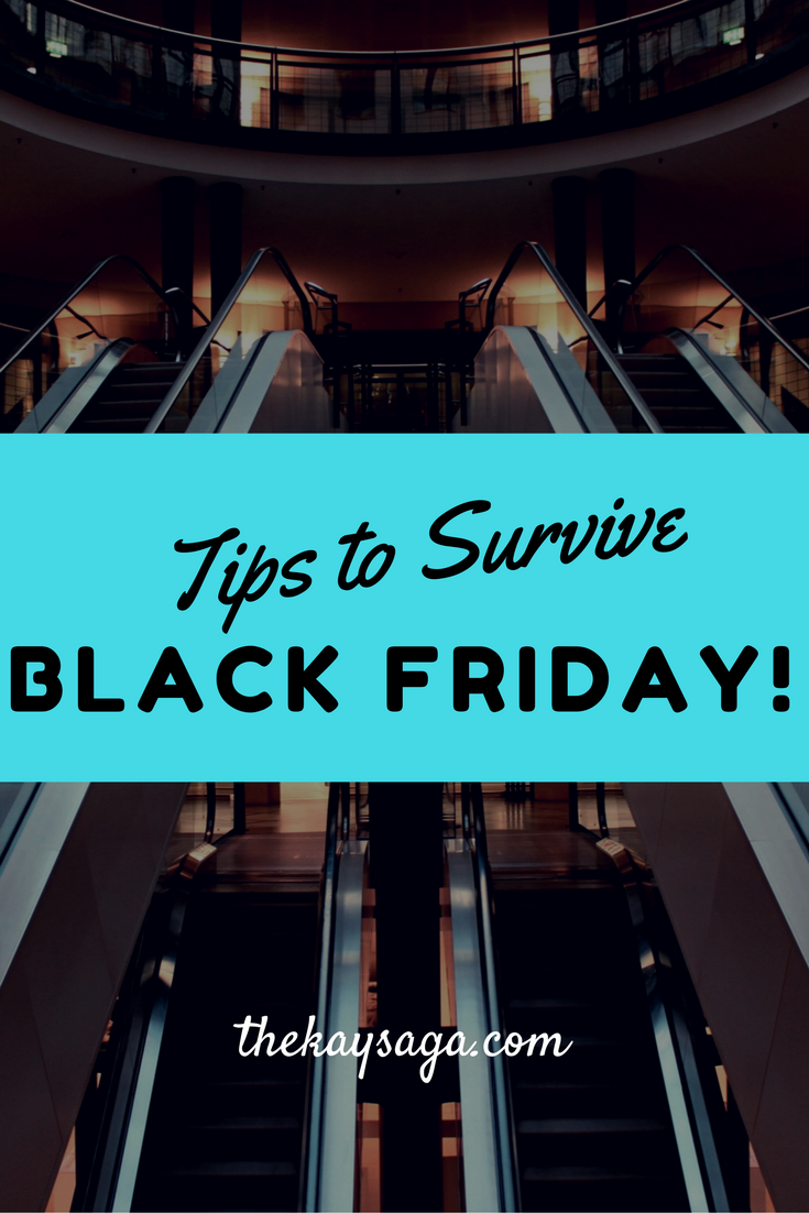 Tips to Survive the Black Friday Experience