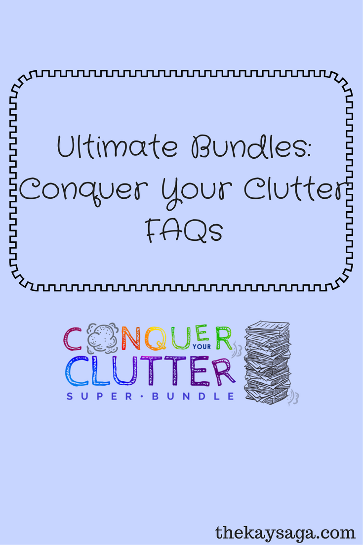 Ultimate Bundles: Conquer Your Clutter FAQs