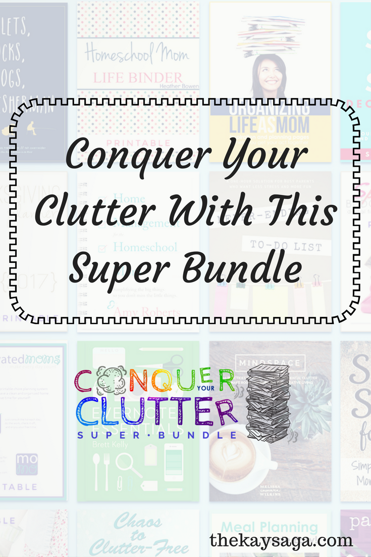 Conquer Your Clutter With This Super Bundle