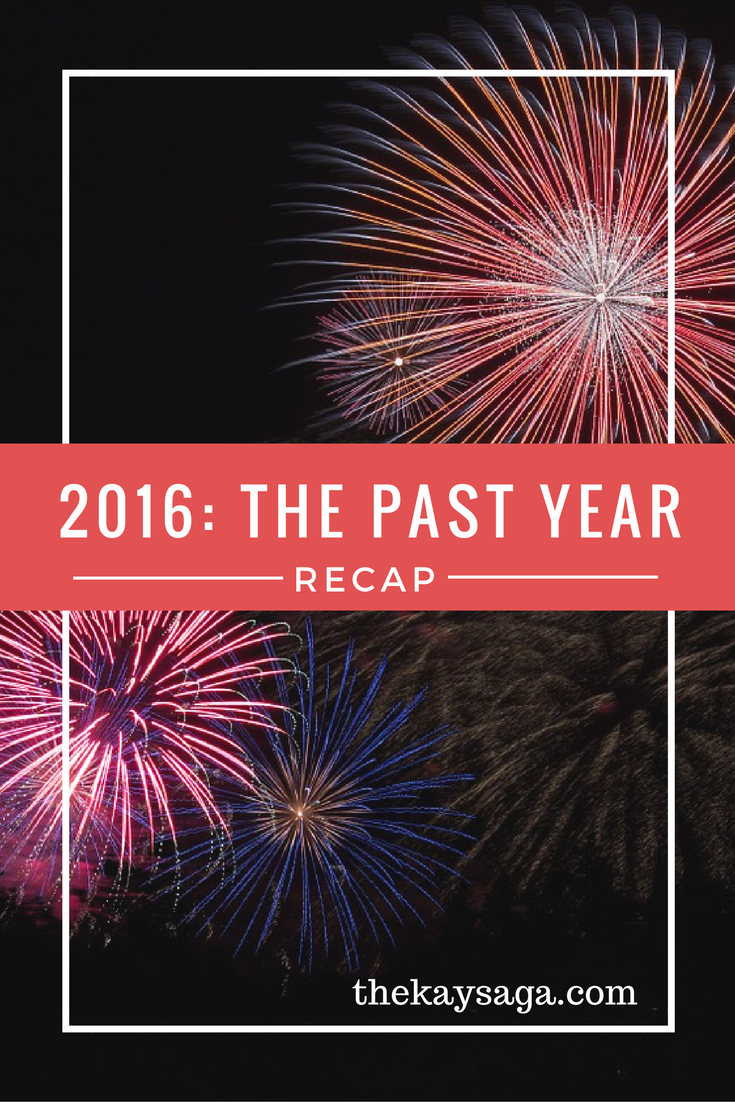 2016: The Past Year Recap